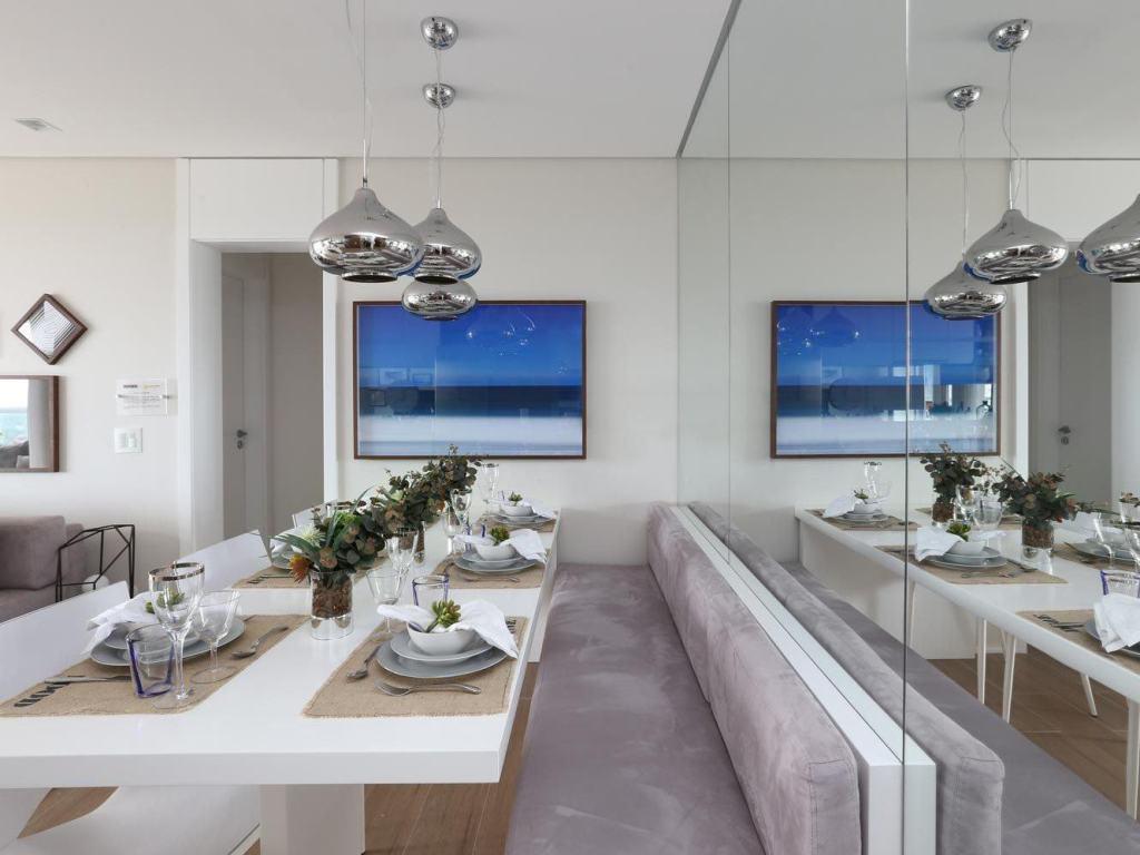 Espelho Como Recurso Para Arquitetura E Decora O De Interiores  -> Sala De Jantar Estilo Alemao
